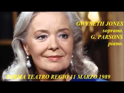 Gwyneth Jones. Parma 1989.