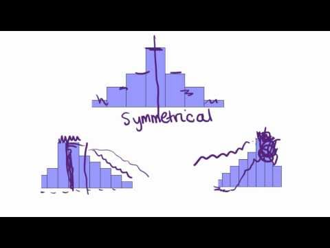 Maths Tutorial: Describing Statistical Distributions (Part 1 of 2)