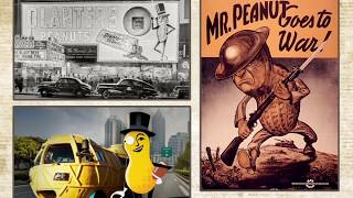 The history of Planters' Mr. Peanut mascot
