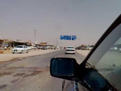 Taxi ride in Iraq, Erbil to Dohuk, crossing Ruwia Kurdistan Region
