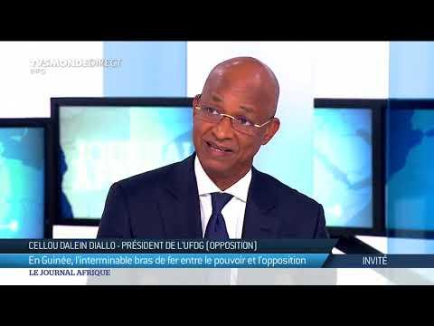 """Guinée : le chef de file de l'opposition Cellou Dalein Diallo dénonce """"l'impunité"""""""