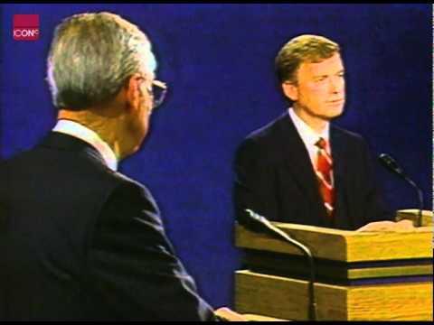 Lloyd Bentsen in a TV debate with Dan Quayle
