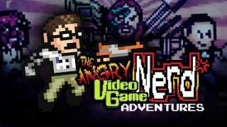 Angry Video Game Nerd Adventures for Wii U Gameplay *LANGUAGE WARNING!*