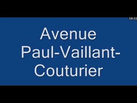 Avenue   Paul Vaillant Couturier Paris et Gentilly  Quartier  14e