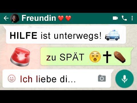 ►Gruselige Whatsapp Chats😭 Freundin allein zu Haus🔪💔...