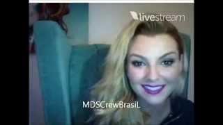 Marjorie De Sousa Twitcam 15 agosto