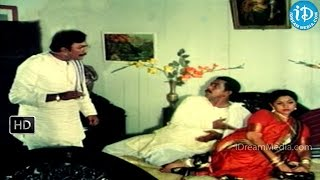 Sankeerthana Movie - Y Vijaya, Narra Venkateswara Rao, Malikarjuna Rao Comedy Scene