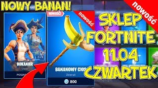 FORTNITE 11.04 STORE-BRILLIANT BANANA COLLECTOR! + New skins-Banana blow, Sea Wolf