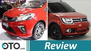 Daihatsu Sirion AT vs Suzuki Ignis GX AGS I Review | OTO.com