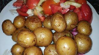 Простой рецепт очень вкусной картошки