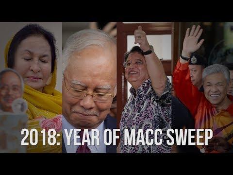 2018: Year of anti-corruption sweep in Malaysia