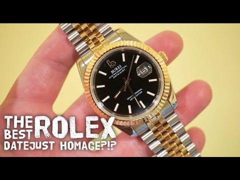 Nikkiaz Burei Rolex Datejust Homage Under $200 - Is A Rolex Even Worth It?