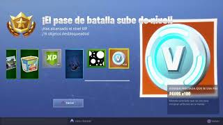 FREE LEVELS in FORTNITE (PARCHEADO October 28)