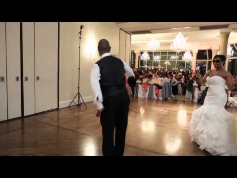 Batt Wedding - Greatest Father Daughter Dance EVER!!! ..... It All Changes At 1:35