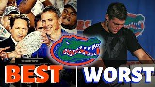 Florida Gators BEST & WORST