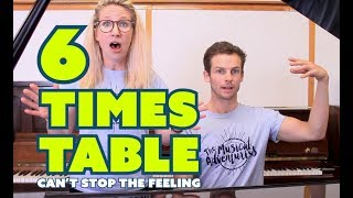 Six Times Table Song • TROLLS CAN'T STOP THE FEELING COVER