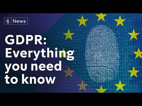 GDPR explained: How the new data protection act could change