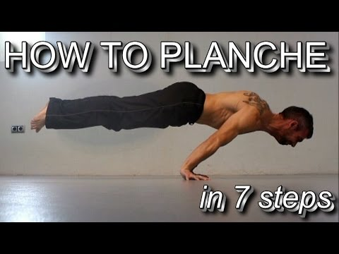 How to Planche in 7 Steps | Detailed...