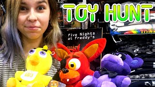TOY SHOPPING HUNT | FNAF, SHOPKINS, MINECRAFT, PLUSHIES & MORE! | RadioJH AUDREY