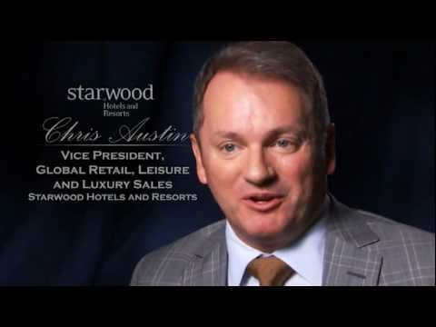 Chris Austin Vice President Global Retail Leisure And Luxury S Starwood Hotels Resorts You
