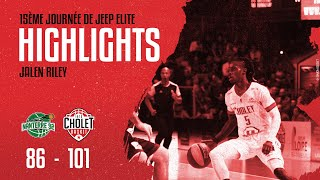 Nanterre 92 - Cholet Basket : La performance de Jalen Riley