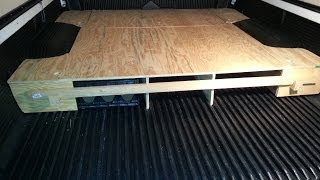 Home Made Camper Truck Bed Box 1999 Tacoma