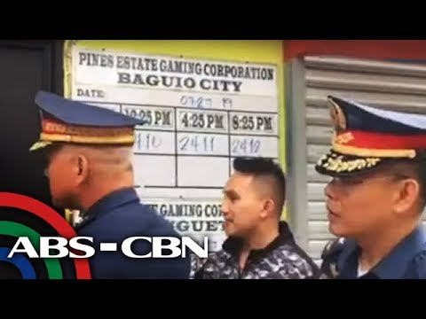 PH police chief shuts down lotto outlet in Baguio | ANC
