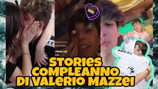 #valespo STORIES VALERIO MAZZEI del suo compleanno ✨