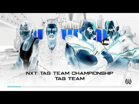 NXT Tag Team Championship Tag Team Match, Roman Reigns & Dean Ambrose vs The Ascension [WWE 2K16]