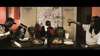 Смотреть клип Gucci Mane Ft. Waka Flocka & Peewee Longway - Breakfast