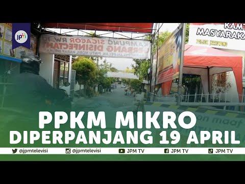 PPKM mikro diperluas hingga 20 provinsi