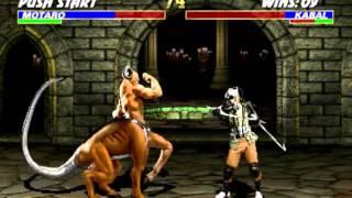 Ultimate Mortal Kombat 3 KABAL Gameplay Arcade