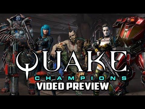 Quake Champions Beta PC Game Preview