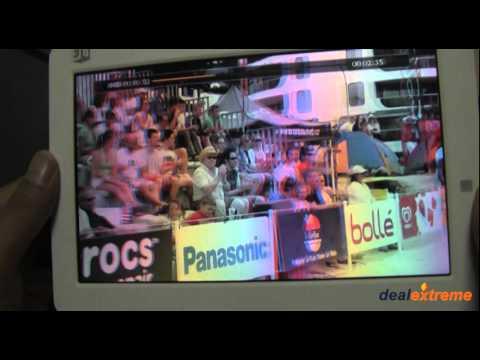 LED Glasses-Free 3D Digital Multimedia Player - DealExtreme