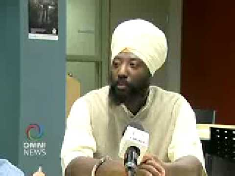 Black African American Sikh Brother