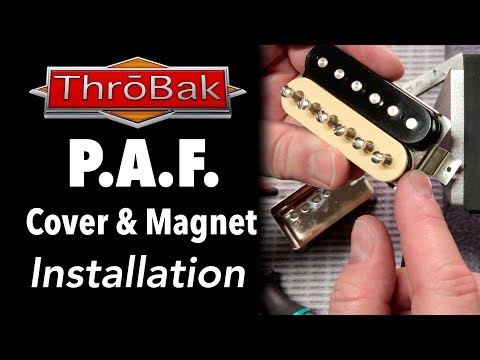 PAF Humbucker Pickups: How to Change the Cover and Magnet
