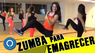 ZUMBA fitness DANÇA para EMAGRECER