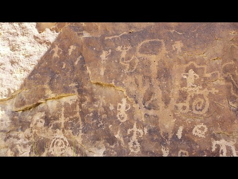 Evidence of Cosmic Super Storm of Biblical Proportions Carved in Stone,  Canyon of the Ancients