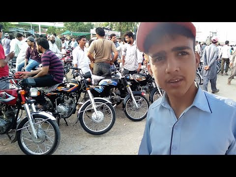 Second Hand Bike Bazaar | Used HONDA 125 And Cheap Motorcycles In Sunday Bike Market Karachi