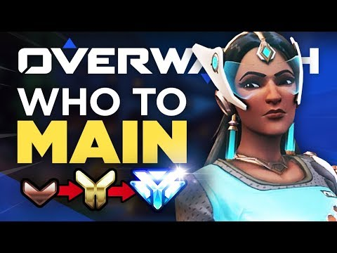 Best 7 Heroes to Rank Up FAST! Bronze to Diamond - Overwatch Guide