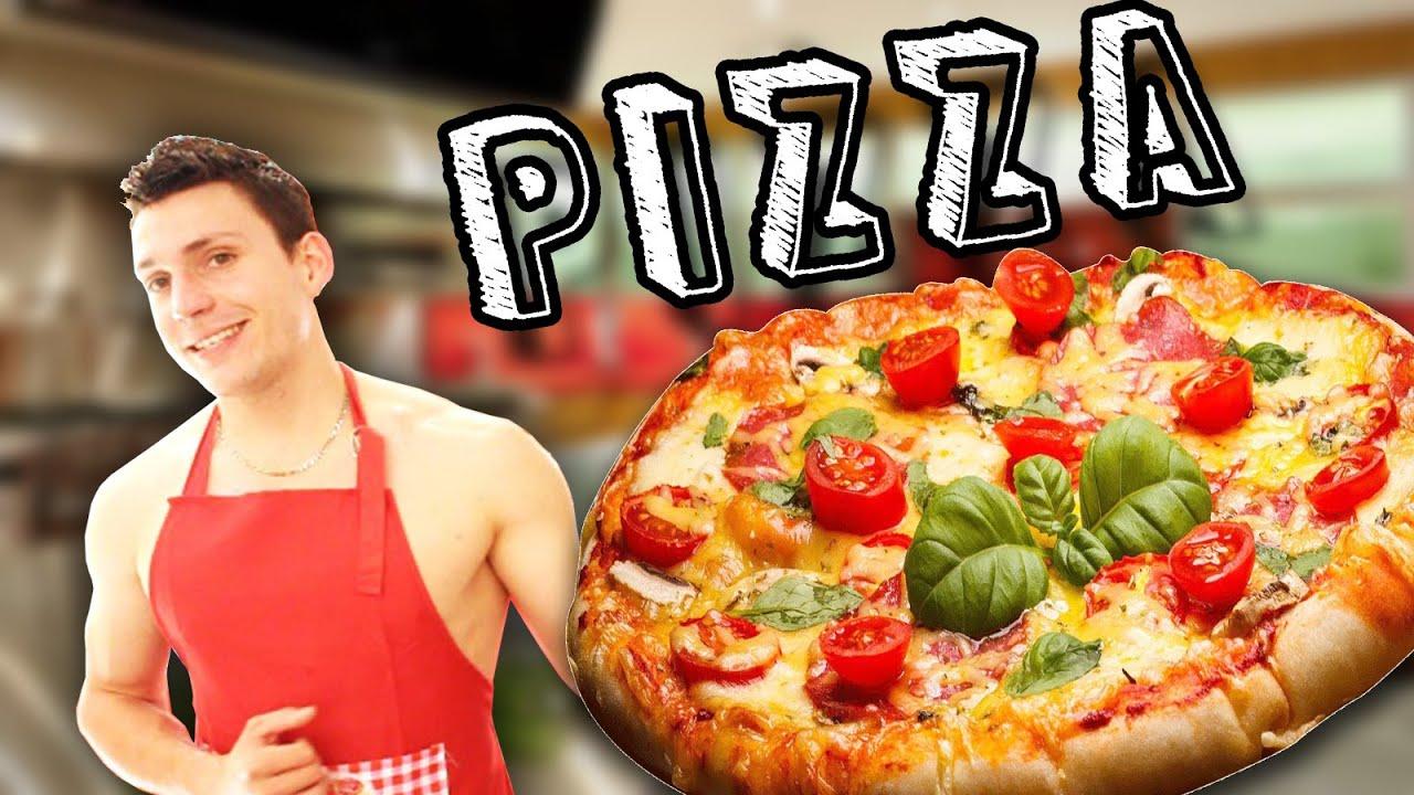 recette de pizza light pour maigrir sans gluten youtube. Black Bedroom Furniture Sets. Home Design Ideas