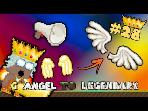 Growtopia - G Angel to LEGENDARY #28 - FREE SBS!