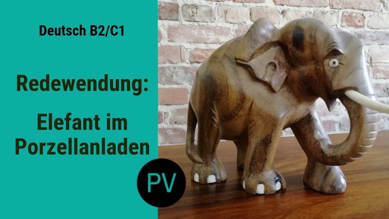 Elefant Im Porzellanladen
