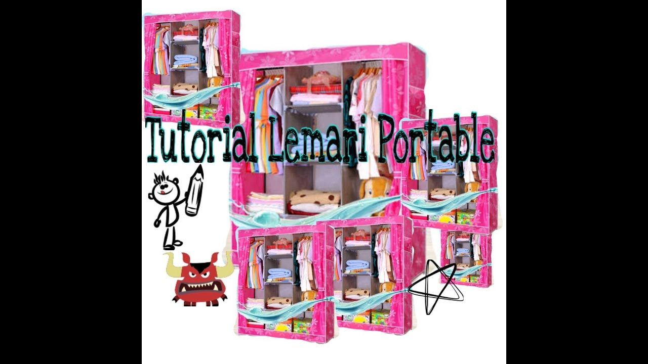 Harga Box Baju Plastik Tutorial Cara Rakit Lemari Portable Lemari Serbaguna Ukuran Jumbo Made In China