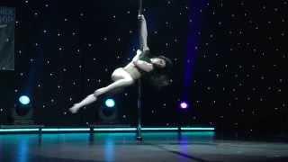 Artemis Anagnostou - Champion Professional Division - Greek Pole Dance Championship 2015 by Rad