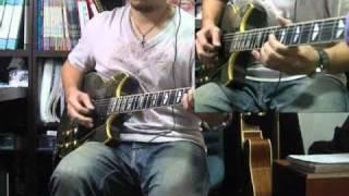 張震嶽 - 秘密 guitar solo cover