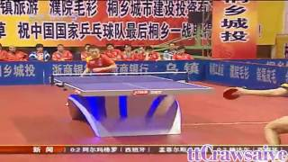 Table Tennis: The Chinese Overpowering