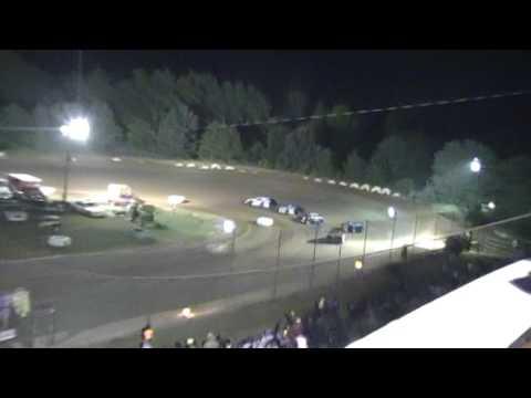 Crowley's Ridge Raceway 5/21/16 Modified Feature Race After Caution