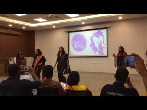 """ANAESTHESIA LADY DOCTORS -""""Emotions fashion show"""" on woman's empowerment ✌🏼"""