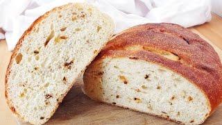 Картофельный хлеб с жареным луком